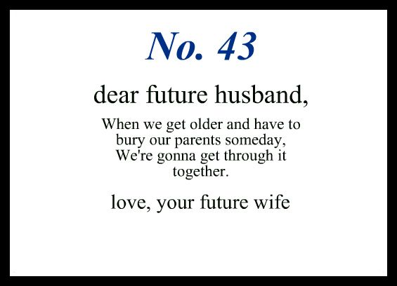 Love Notes To My Future Husband Love .....Romance .... Relationship ...