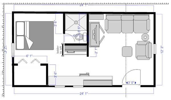 Silvercrest Mobile Home Floor Plans likewise 1 Bedroom Mobile Homes further Turn A Deluxe Playhouse Into A Tiny H likewise 18236 moreover Robinson Dragonfly Tiny House Design. on 14 by 40 mobile home floor plans
