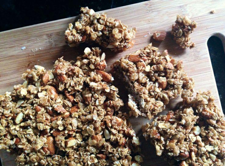 big sur vegan power bars (gluten free, healthy, easy!)