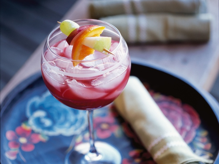 Ruby Sangria by Leite's Culinaria | Adult treats, Drinks ect. | Pinte ...