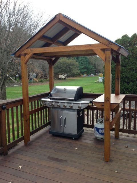 Barbecue canopy