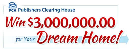 Win Three Million Dollars for Your Dream Home!