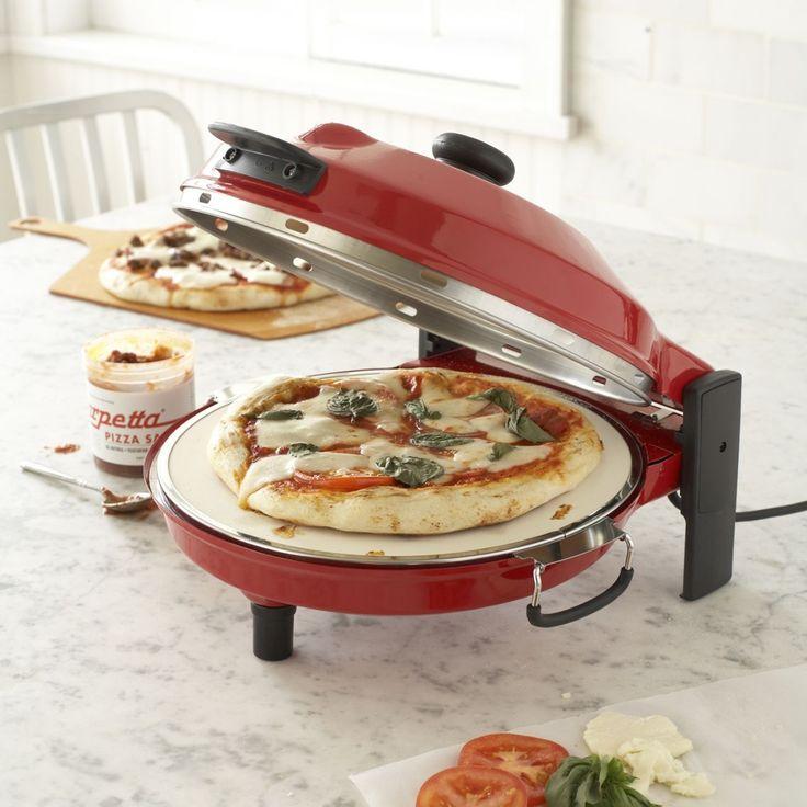 Countertop Pizza Oven Sur La Table : Petite pizzeria! Countertop pizza maker with pizza stone, genius!