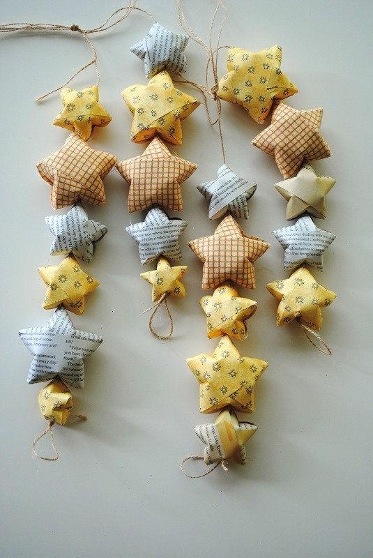 DIY Your BABY DECORATION Origami Ornaments Garland By Allweneedisor