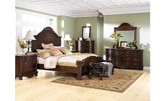 North Shore Bedroom Set : North Shore Panel Bedroom Set  Interior Decorating  Pinterest