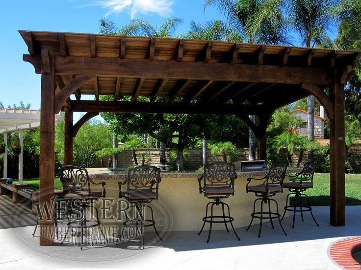 pin by western timber frame on pool side pergolas pinterest