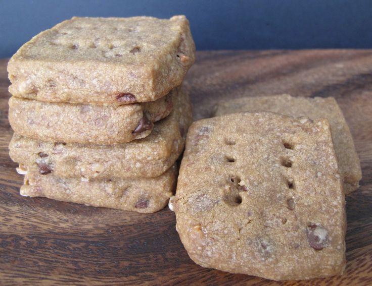 Espresso Chocolate Shortbread Cookies | Desserts | Pinterest