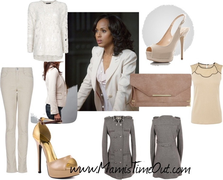 how to dress like olivia pope #fashion