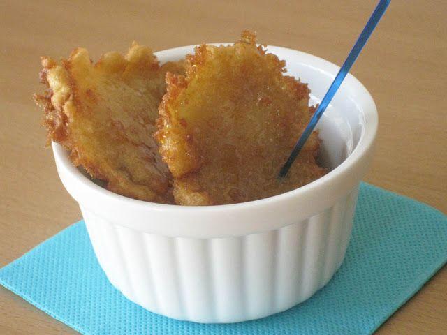 Buñuelos de manzana para celíacos