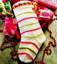 Learn to Knit a Christmas Stocking - Part 2 - YouTube