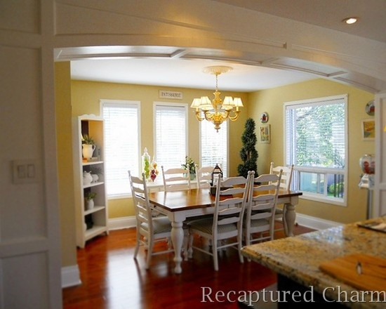 traditional kitchen yellow walls for the home pinterest