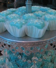 Theme: Tiffany blue..