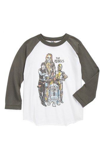 Junk Food 'Star Wars Rebels' Baseball T-Shirt (Toddler Boys) | Nordstrom