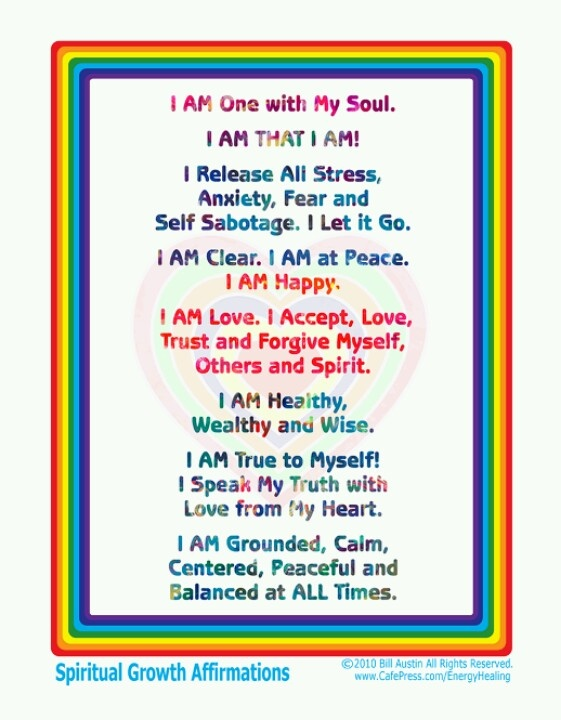 Spiritual affirmations for marriage