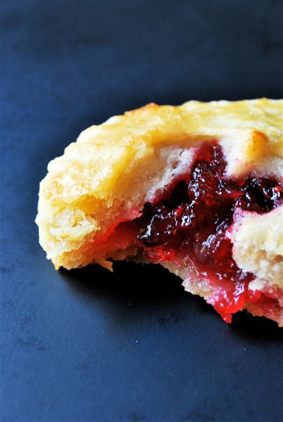 cranberry hand pies - not going to lie. I used pre-made pie crust. You ...