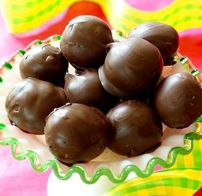 Easy Chocolate Truffles Recipe | Best Food Recipes | Pinterest