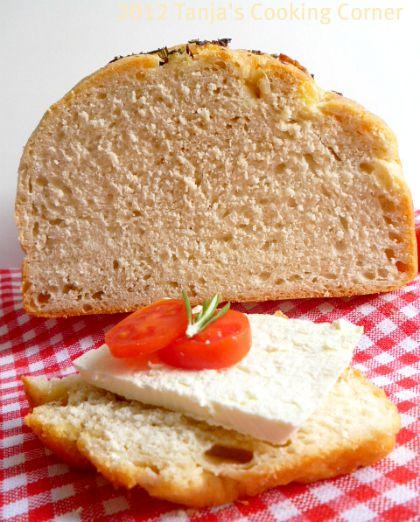 Rosemary Garlic Bread | bread | Pinterest