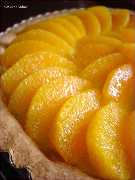 Orange Tart Recipe — Dishmaps