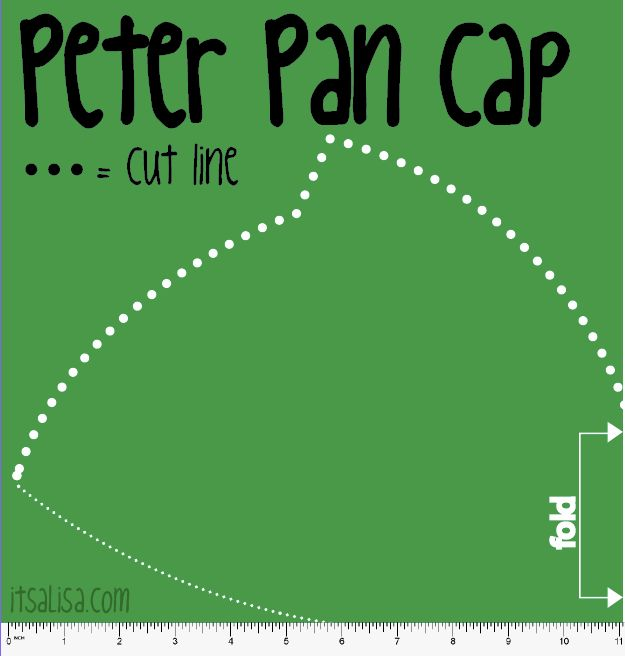 Exceptional image throughout peter pan hat pattern printable