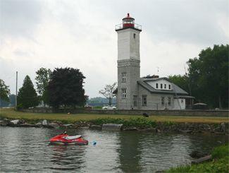 Ogdensburg Harbor Light, Ogdensburg, New York (Saint Lawrence Seaway)