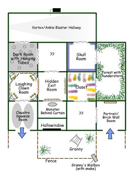 Garage Maze My Halloween Favorites Pinterest