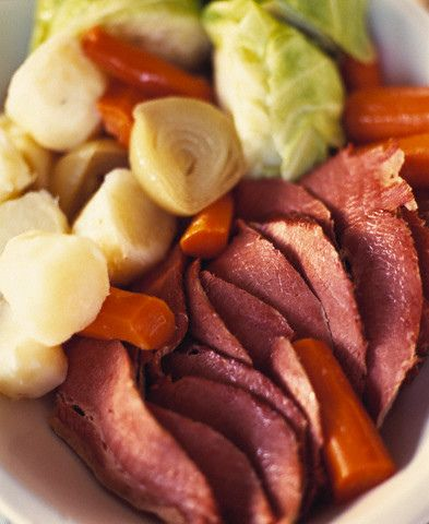 England Corned Beef and Cabbage Dinner Use horseradish mustard sauce ...