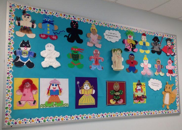 Gingerbread Man Project   Classroom Ideas   Pinterest