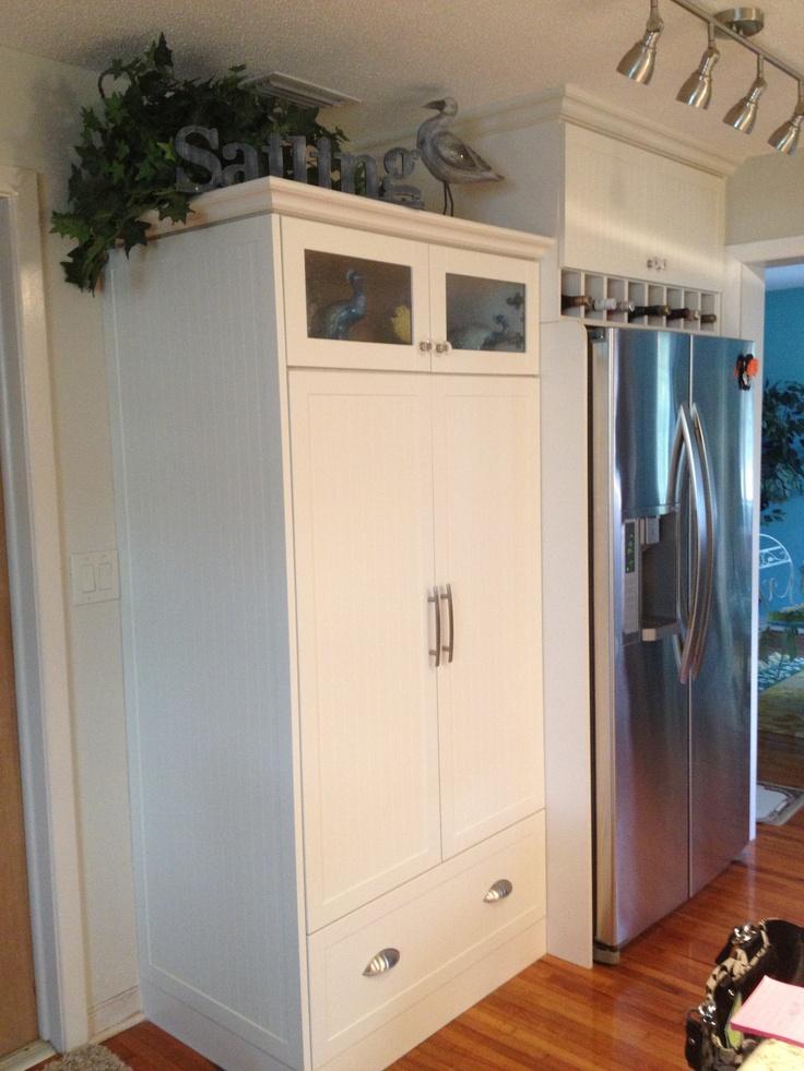 Pantry Next To Fridge My Future Kitchen Pinterest