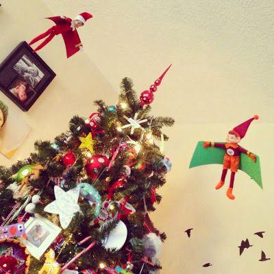 Hang gliding | Elf on the Shelf | Pinterest