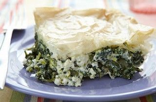 spinach and feta pie | nomz | Pinterest