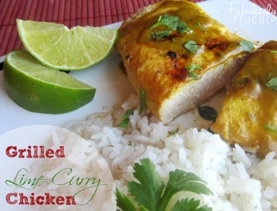 Grilled Chicken With Soy-Curry Sauce Recipe — Dishmaps
