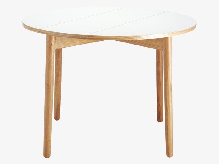 dining table with folding leaves habitat white tables pinterest