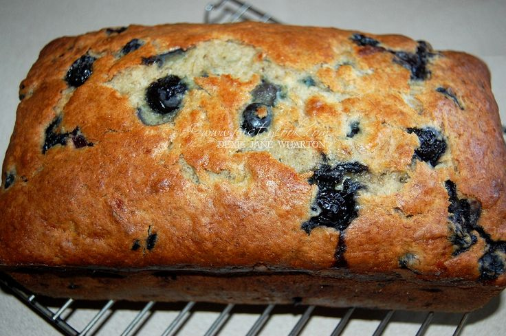 Blueberry Cream Cheese Banana Bread Recipe — Dishmaps