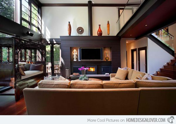 15 modern living room designs with asian influence home design lover