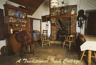 Houses and villages ireland rustica pinterest for Irish home decorations