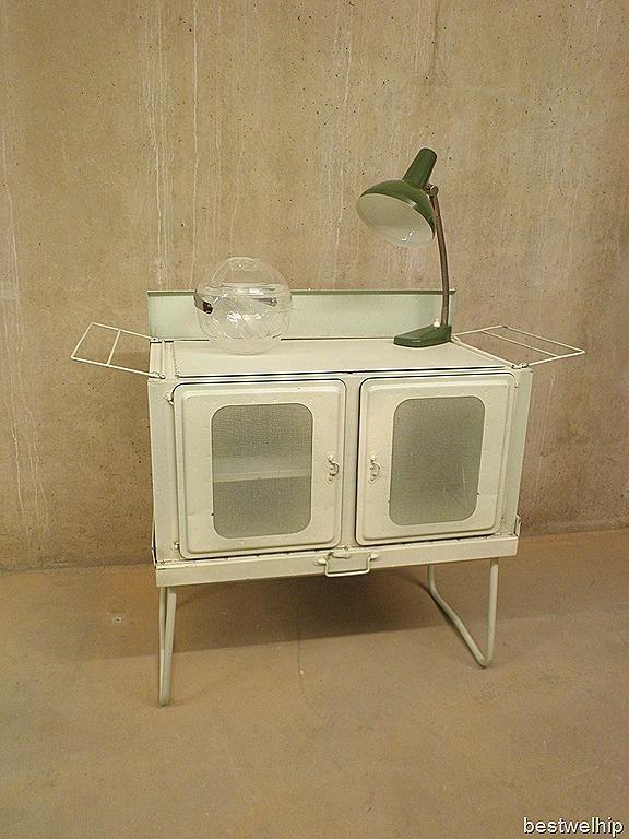 metalen kast industrieel vintage  Furniture  Pinterest