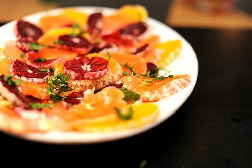 Citrus Salad with Cilantro and Mint | Recipes to Try - SALADS | Pinte ...
