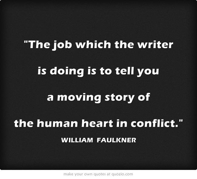Quote William Faulkner Writing