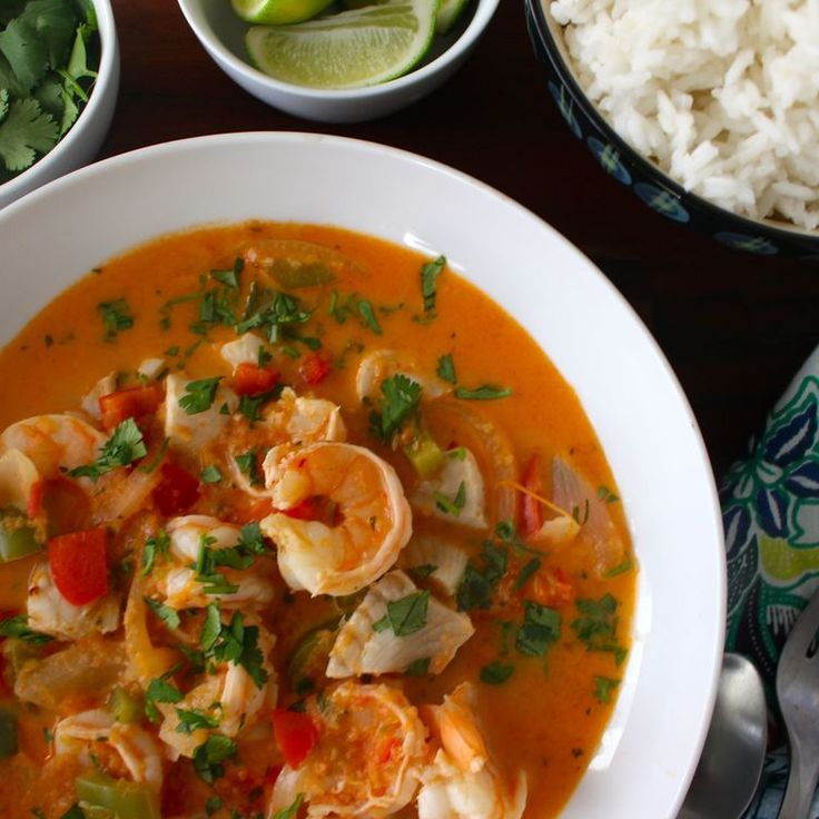 Moqueca - Brazilian Fish Stew Recipe — Dishmaps