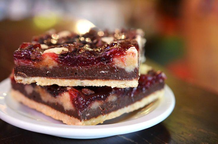 of raspberries, our GF raspberry bars combine delicious raspberry ...