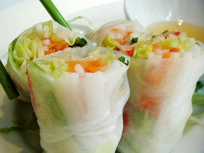 Cucumber and Avocado Summer Rolls with Mustard-Soy Sauce | Foods n ...