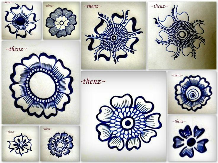 Learn Mehndi Patterns : Mehndi designs learning makedes
