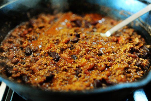 Pioneer woman's frito chili pie recipe---it's the chili recipe I'...