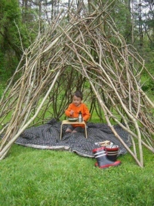Outdoor Fort Active Kids Pinterest