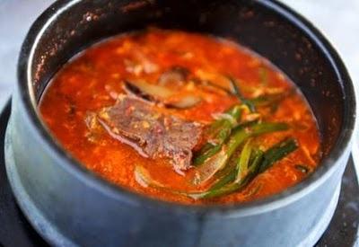 "Yuk Gae Jang (Korean Spicy Beef Soup"" | Soups and Stews | Pinterest"