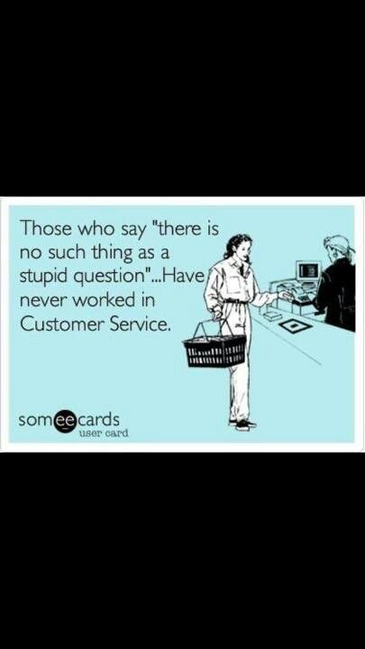 customer service lol