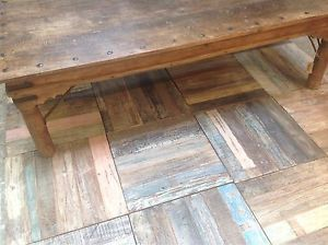 Trade Recycled Removable Wooden Floor Tiles From Reclaimed Teak EBay