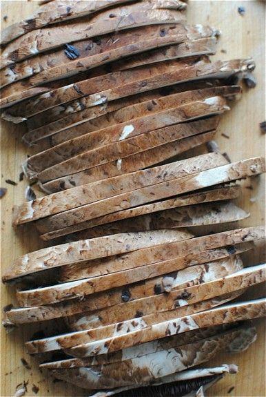 Portobello Mushroom and Kale Stroganoff | Mushroom recipes ...