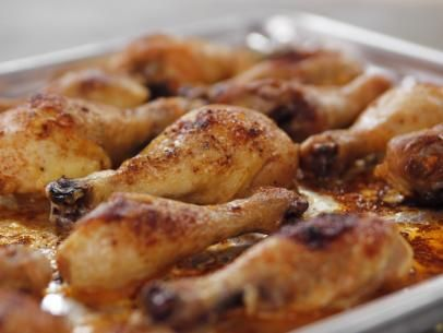 Ree's Spicy Roasted Chicken Legs