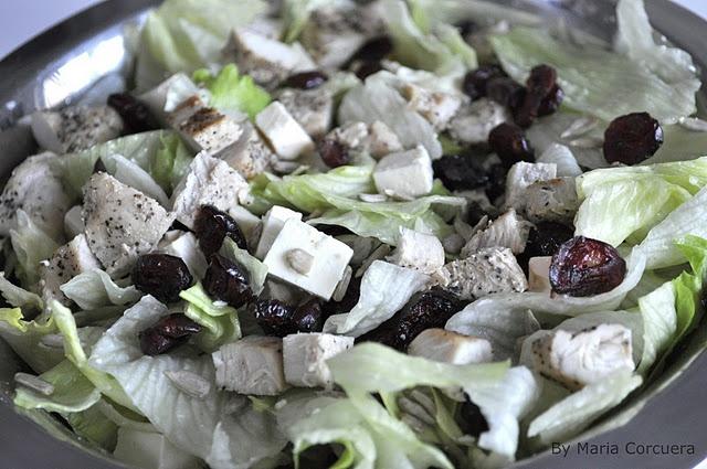 Chicken, Feta & Cranberry Salad | Food | Pinterest